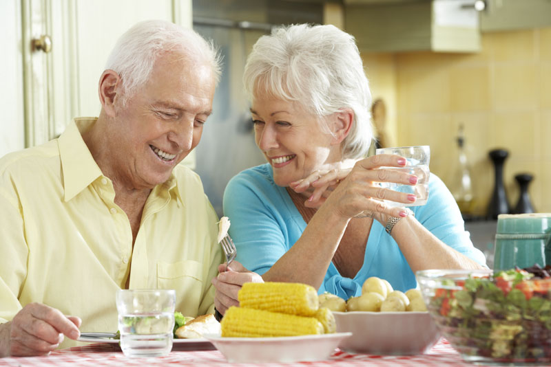 implant supported dentures patients eating